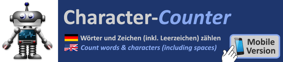 Words & Charatcer Counter
